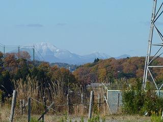 泉ヶ岳も仙台神室も雪景色、始まり