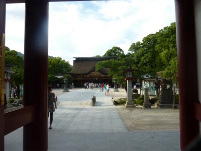 九州国立博物館と太宰府天満宮