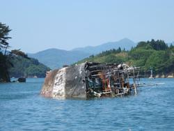 漁船撤去すすむが