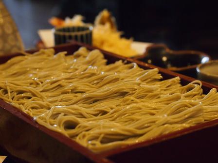 へぎ蕎麦ランチ
