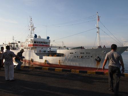 ベノア補給入港