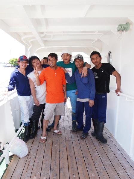 インドネシア船員たち