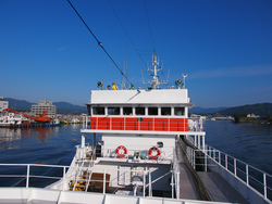 新造船の試験操業