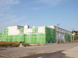 製氷工場復旧へ