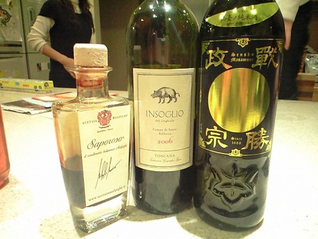 焼き鳥『酒道』2〜ワインVS酒の巻