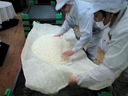 今年最後『暁』蒸し米の巻