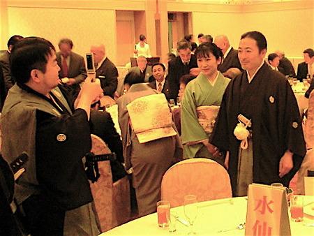 伊達家の秘話出版記念PARTY@勝山館