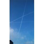 「飛行機雲〜( ◎v`)ノ」MAKI