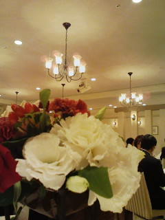 スタッフB君の結婚式 追記