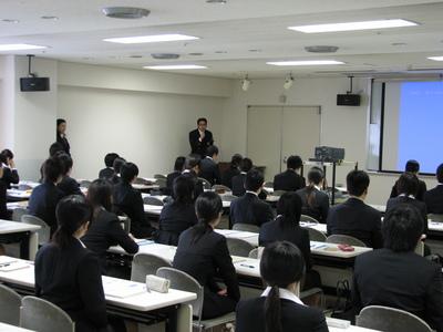 新卒セミナー&ありがとうございます。