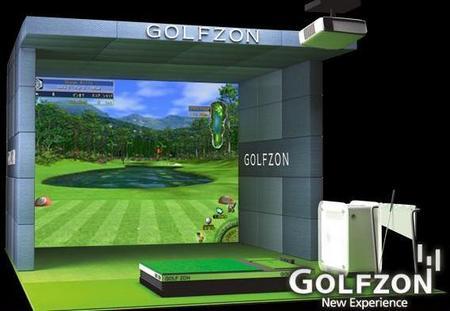 東北初上陸 ゴルフシュミレーションマシン「GOLFZON」