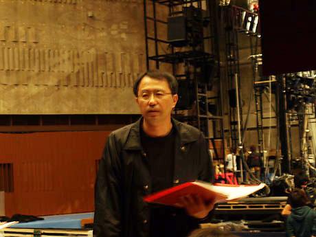 『美女と野獣』舞台設営取材&監督インタビュー(2)