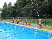 水泳記録会~自己記録更新を目指して~