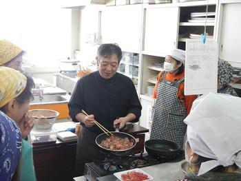 料理教室に行ってきました!!