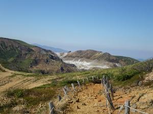 活火山・秋田焼山