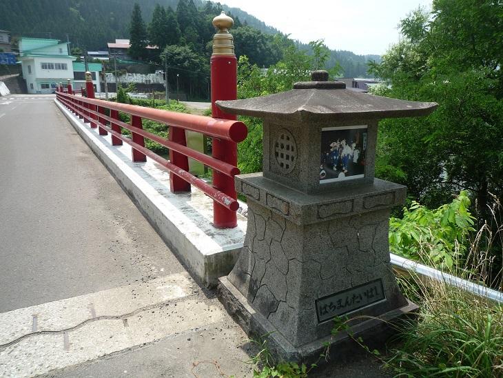 すてきな欄干の橋