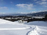 水晶山スキー場オープン!