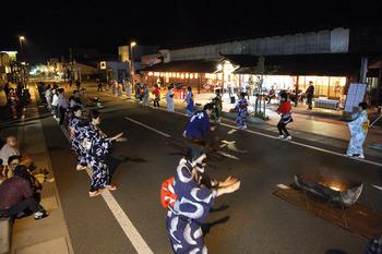 花輪の町踊り