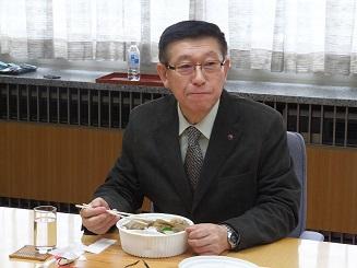 小坂駅弁試食会