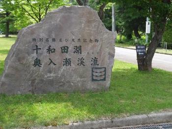 十和田湖西湖畔歩き~その1~