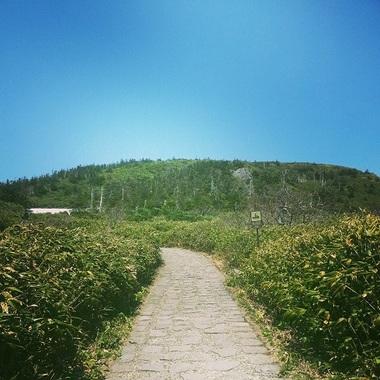 八幡平登山