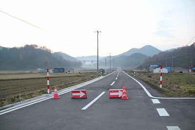 11月30日 大館~小坂間に高速道路が開通します