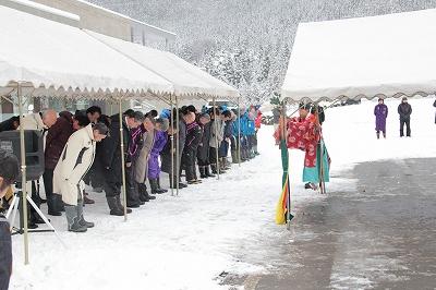 花輪スキー場開き