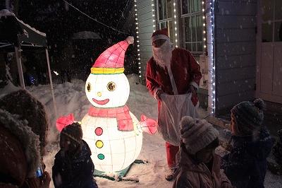 クリスマスマーケットin小坂 最終日