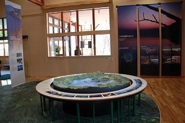 十和田湖ジオラマ
