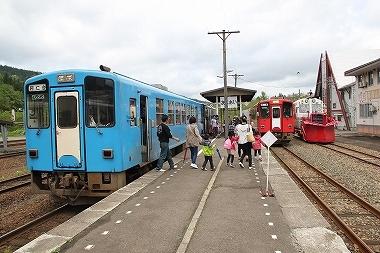 秋田内陸線阿仁合駅