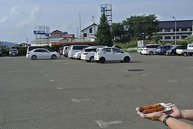 第2駐車場とみそ付たんぽ
