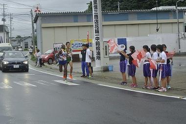 十八駅伝 ゼッケン15 重川材木店、4 JR東日本