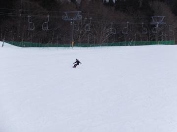 花輪スキー場です。