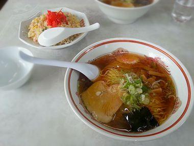 菅野食堂ラーメン、チャーハン