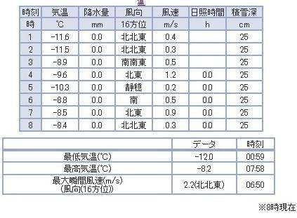 気象庁 アメダスデータ
