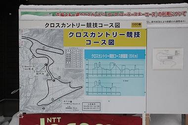 クロスカントリー コース図