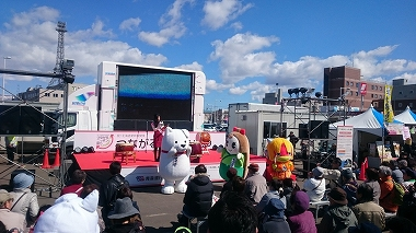 函館イベント ステージ