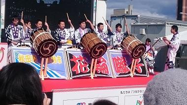 函館イベント 花輪ばやし