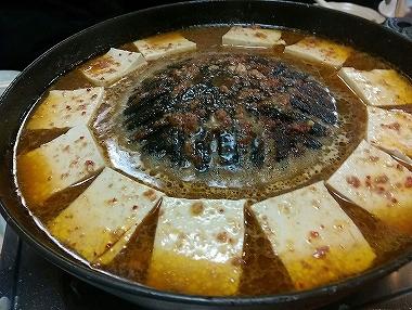 ホルモン抜き豆腐鍋