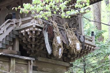 熊野神社の草鞋