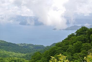 997展望所から十和田湖