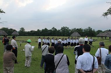 十和田中学校生徒の合唱