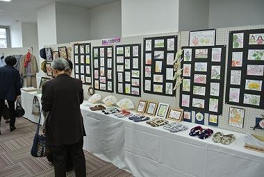 絵手紙の展示