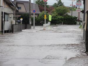 土砂災害や浸水にご注意ください!
