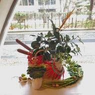 かづの産業見合市~農の生け花