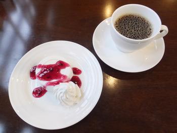 「カフェこもれび」のランチ