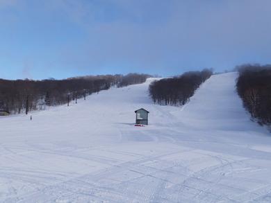 本日の秋田八幡平スキー場