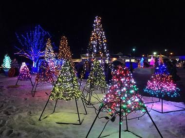 冬物語の電飾