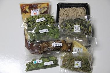 天然山菜そば