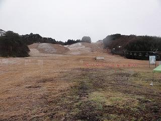 水晶山スキー場開き